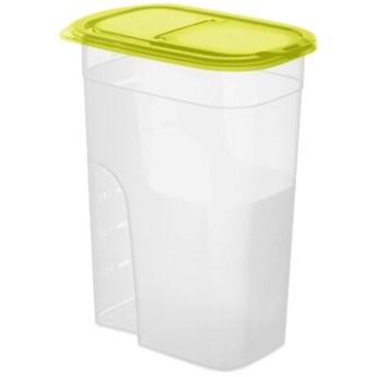 Pojemnik plastikowy ROTHO Sunshine 1121105073 4.1 L Przezroczysty