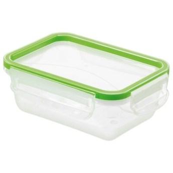 Pojemnik plastikowy ROTHO Clic & Lock 1162205518 0.5 L Zielony