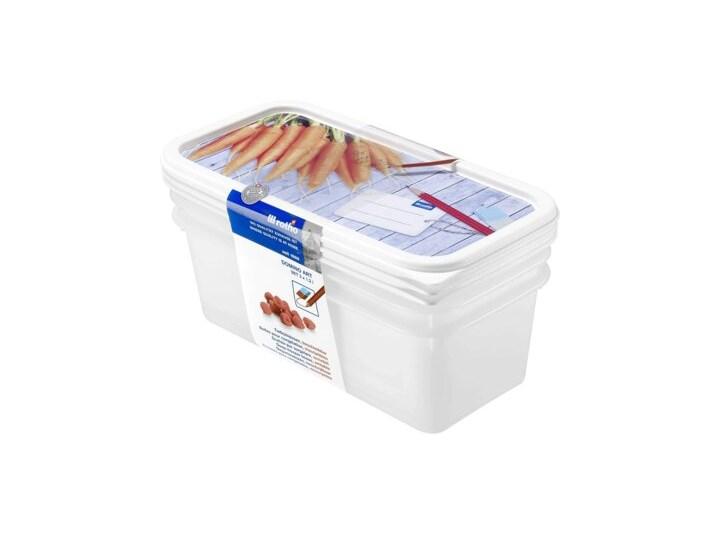 Zestaw pojemników na żywność ROTHO Domino 1755310236 3 szt. Żaroodporny Tworzywo sztuczne Typ Zestawy
