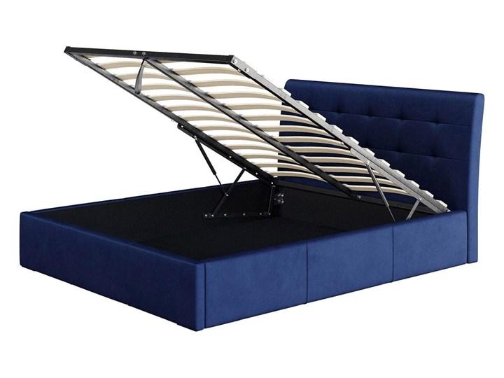 ŁÓŻKO TAPICEROWANE 140X200 Z POJEMNIKIEM - ALDO - KOLORY Kategoria Łóżka do sypialni