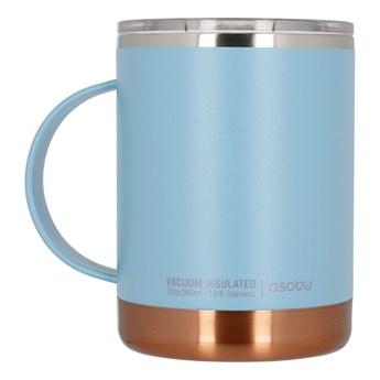 Kubek termiczny ASOBU Ultimate Coffee Mug Baby Blue 360ml