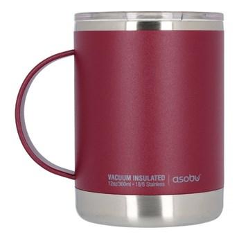 Kubek termiczny ASOBU Ultimate Coffee Mug Burgundy 360ml