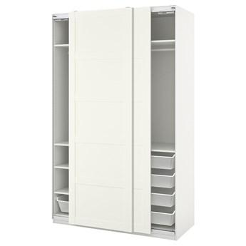 IKEA PAX / BERGSBO Kombinacja szafy, biały, 150x66x236 cm