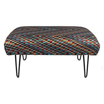 Ławka Industrialna tapicerowana Hairpin Barcelona - LOFT