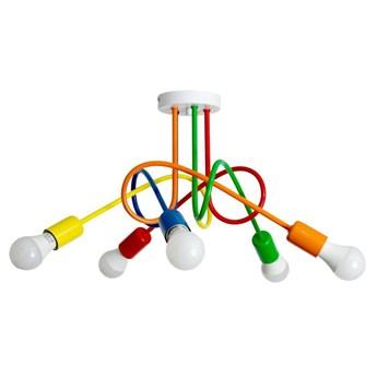 Kolorowa Lampa Sufitowa Mondo 5 Mix1 Loft do pokoju dziecka