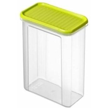 Pojemnik plastikowy ROTHO Domino 1742205070 1.5 L Limonkowy