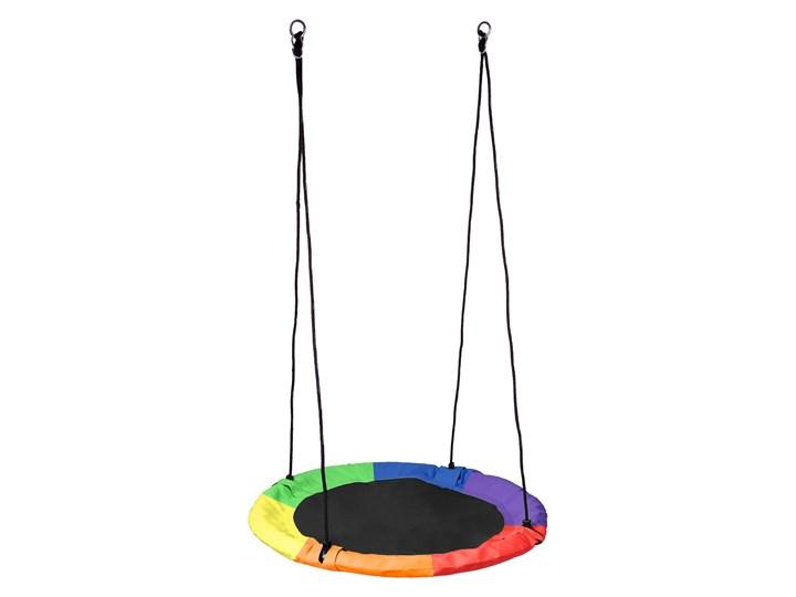 Huśtawka ogrodowa bocianie gniazdo ROMEK kolorowa 100cm Pianka Metal Kategoria Huśtawki dla dzieci