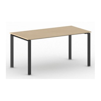 Stół konferencyjny INFINITY 1600 x 800 x 750 mm, buk