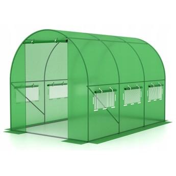 Tunel foliowy - szklarnia ogrodowa 2x3m