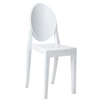 Krzesło plastikowe białe Victoria