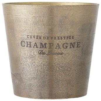 Cooler do szampana Arissa Ø23x23 cm mosiężny antyczny