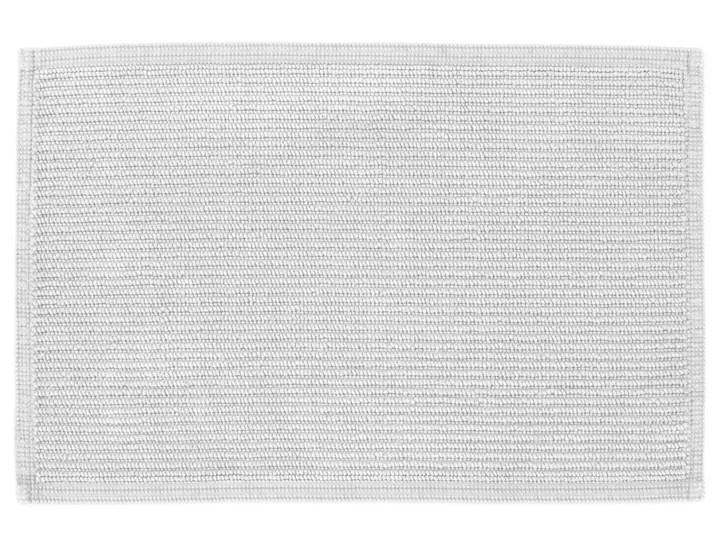 Dywanik łazienkowy Miekki 60x40 cm biały 40x60 cm Kategoria Dywaniki łazienkowe Prostokątny Bawełna Kolor Szary