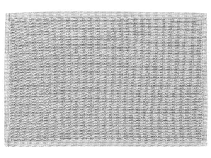 Dywanik łazienkowy Miekki 60x40 cm jasnoszary 40x60 cm Prostokątny Kategoria Dywaniki łazienkowe