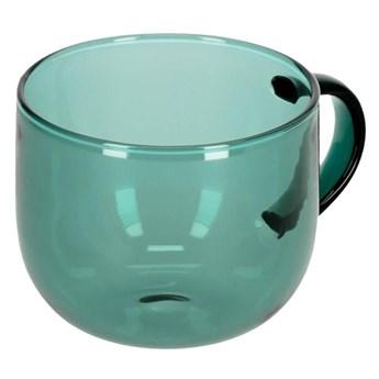 Kubek do kawy Alahi szklo zielone