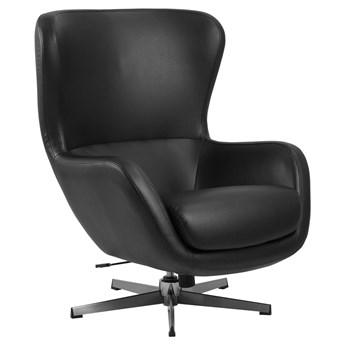 Fotel obrotowy Keros 89x105 cm czarny