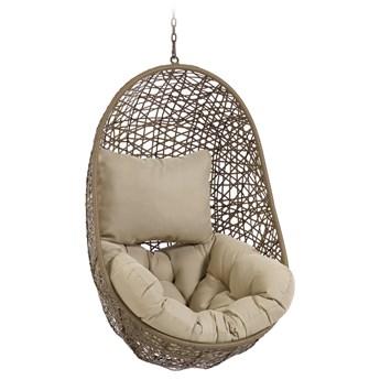 Fotel wiszący Florina 84x121 cm brązowy