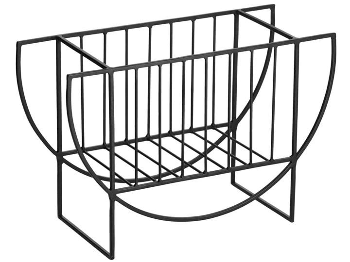 Gazetnik Aubrey 43x28 cm czarny Kategoria Gazetniki