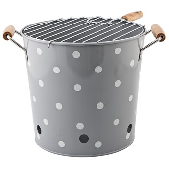 Grill Barbeque ∅23x25 cm szary