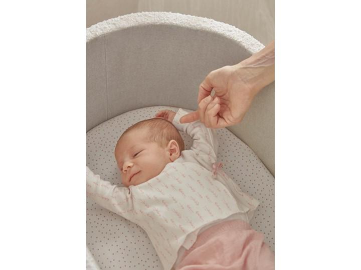 Kosz Mojżesza dla niemowląt Adara 80x46 cm biały Płyta MDF Drewno Kosze Mojżesza Kategoria