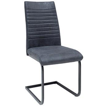 Krzesło Deason 41x93 cm szare antyczne