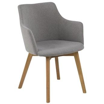 Krzesło Gajardo 62x80 cm jasnoszare