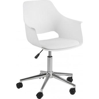 Krzesło biurowe Florence 58x95 cm białe