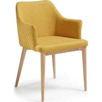 Krzesło Danai 54x80 cm żółte