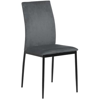 Krzesło Glover 44x92 cm ciemnoszare