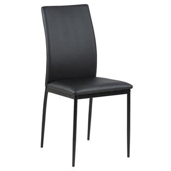 Krzesło Glover 44x92 cm czarne