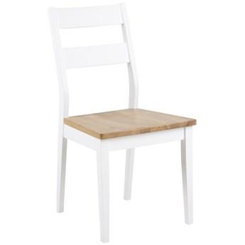 Krzesło Derry 48x90 cm białe