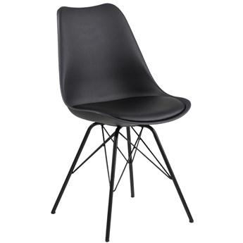 Krzesło Geelan 49x86 cm czarne
