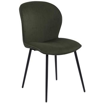 Krzesło Evelyn 43x83 cm oliwkowe