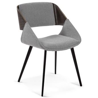 Krzesło Herrick jasnoszare