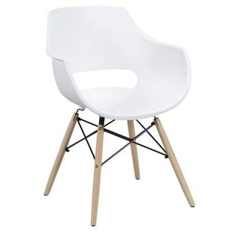 Krzesło Hogi 57x81 cm białe