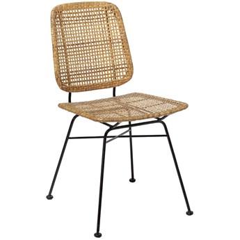 Krzesło Laurel 43x84 cm naturalne