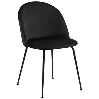 Krzesło Hanaway 50x81 cm czarne