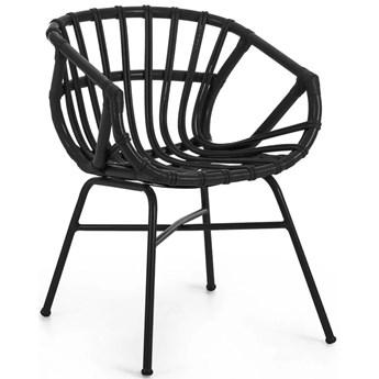 Krzeslo Kaly czarne