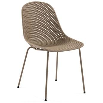 Krzesło Quinby beżowe