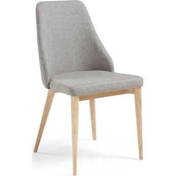 Krzesło Roxie 48x88 cm jasnoszare