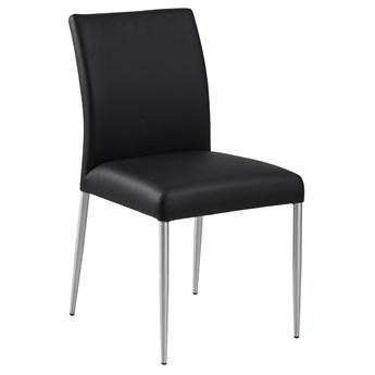 Krzesło Earl 46x87 cm czarne