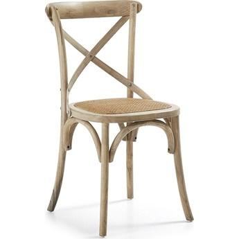 Krzesło Silea 50x88 cm drewniane jasne
