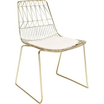 Krzesło Solo 57x84 cm złote