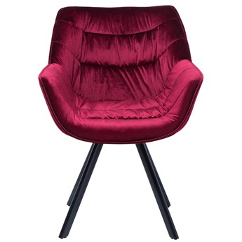 Krzesło Clingman czerwone
