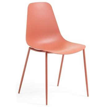 Krzesło Wassu 47x52 cm ciemnopomarańczowe