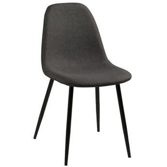 Krzesło Eusebio 45x84 cm szare