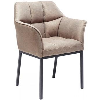 Krzesło z podłokietnikami Thinktank 65x85 cm jasnobrązowe
