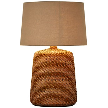 Lampa podłogowa Dimaggio Ø55x82 cm naturalno-beżowa