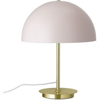 Lampa stołowa Ovessa Ø34x44 cm różowo-złota