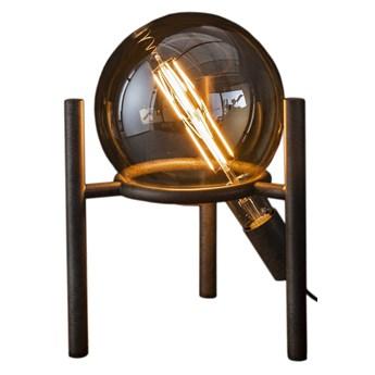 Lampa stołowa Saturn 28x34 cm srebrna