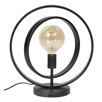 Lampa stołowa Turn Around 1L 40x43 cm czarna